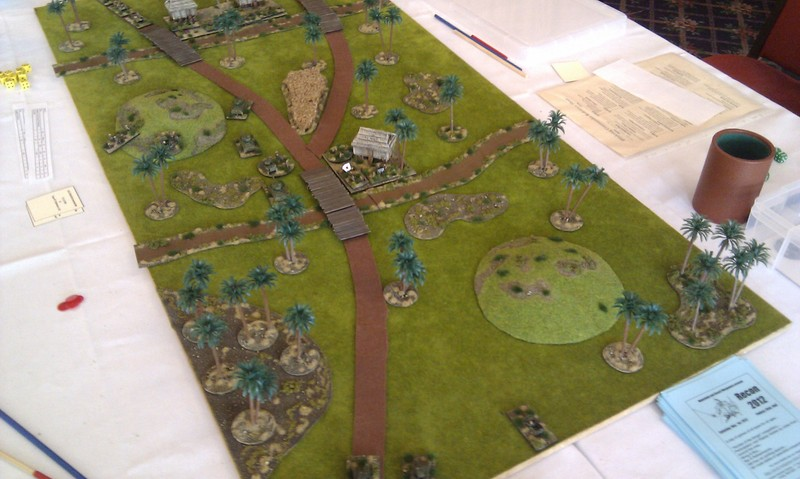 Rubicon Pacific WW2 game