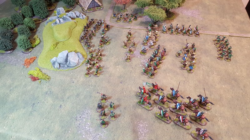 Normans and Saxons clash