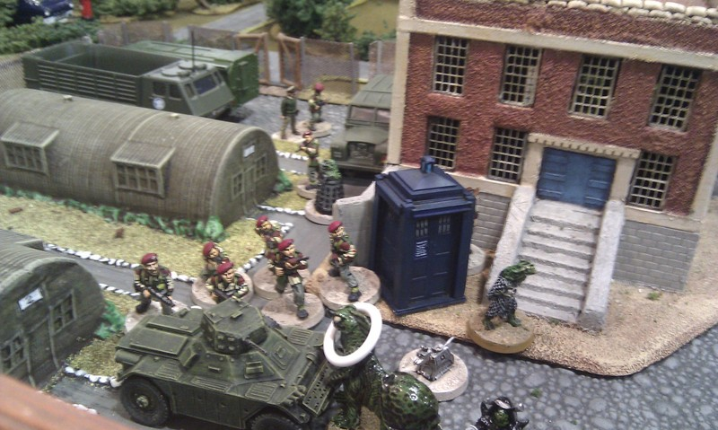 East Leeds Militaria Society \'Dr Who demo game\'