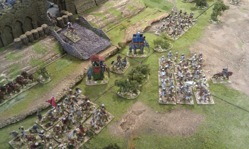 The Bunker Wargames Holiday Centre \'The last stand of the Rani\'