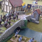 03 - The valiant Legion Uhlans charge across the bridge