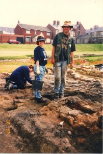 Digging with Earthwatch at Arbeia Fort in South Shields