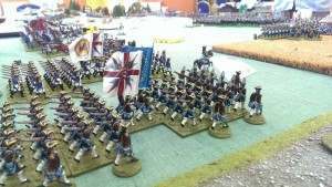The Boleyn Regiment finally arrive...