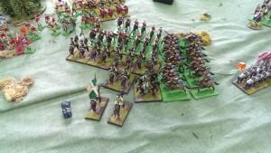 Uhlans fighting hard!