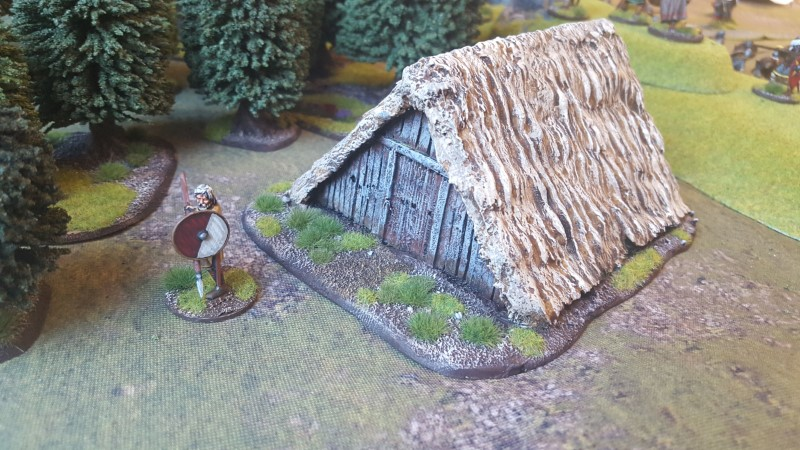 Saxons and a hut…